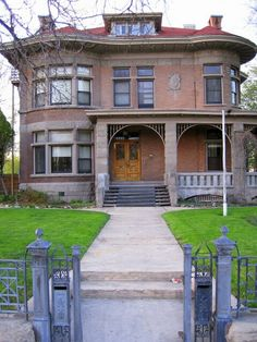 Albert Fisher Mansion And Carriage House In Salt Lake City Utah