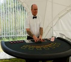 Hire our Mobile Casino Table is available for hire for corporate events in London & the UK.