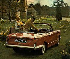 Triumph Herald 1200 convertible