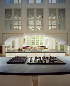 Stuart Cohen and Julie Hacker Residential Architects Chicago IL - Architectural Kitchens - Classical Kitchen 1 Classical Kitchen, Small Kitchen Redo, Residential Architect, Dining Room Walls, Contemporary Furniture, Beautiful Gardens, My House, Future House, Furniture Design