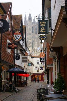 Butchery Lane ~ Canterbury, England
