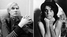 Taiteilija Andy Warhol (vas.) ja kauhurokkari Alice Cooper 1970-luvulla.
