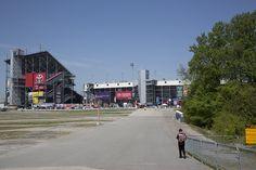 Race day at Richmond International Speedway.