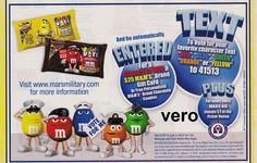 2010 magazine ad M&M's VOTE FOR ME # 2  blue mms M&M advertisement print