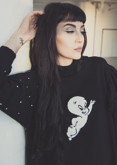 This has got to be one of the most perfect cozy sweaters I've ever seen