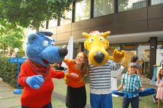 Federal Ministry of Education: Language diversity with two new mascots
