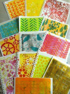 Gelli Arts Printing Plate – Part 2