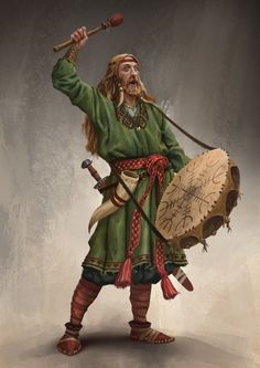 Artwork of vikings, longships and Norse mythology. Fantasy Races, Fantasy Rpg, Medieval Fantasy, Dungeons And Dragons Characters, D D Characters, Fantasy Characters, Fantasy Character Design, Character Concept, Character Art