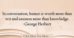 George Herbert Quotes About Humor - 36867