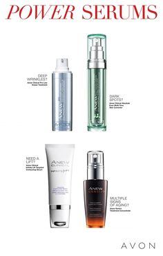 These lightweight serums are no lightweights! Day or night, I never forget my Power Serums to boost my daily skincare. Get yours at http://carriefischer.avonrepresentative.com #avon #anew #AvonRep