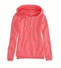 AEO Women's Hooded Sweatshirt (Pink Boom)