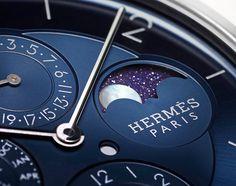 Hermès Slim D'Hermès Quantième Perpétuel Platine Watch Watch Releases