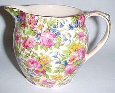 Summertime Dutch shape milk jug