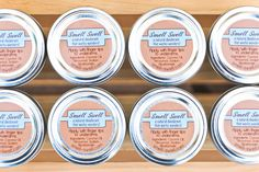 Smell Swell All Natural Deodorant by PrincessAndThePie on Etsy, $8.00; #naturaldeodorant #organicdeodorant #ecoproducts