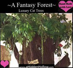 Unique Hollow Cat Trees