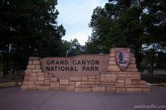 Grand Canyon National Park Sign 2