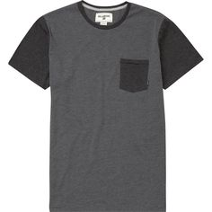 ZENITH SHORT SLEEVE CREW ($25) ❤ liked on Polyvore featuring men's fashion, men's clothing, men's shirts, men's t-shirts, t-shirts, tops, men, men's color block t shirt, mens tailored shirts and mens color block shirt