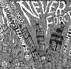 9/11 Twin Towers Art Poster Black & White Ink by Posterography, $25.00