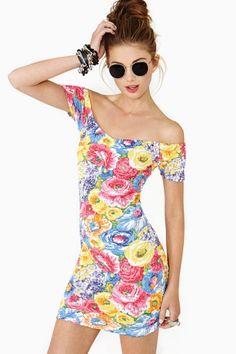 Flower Riot Dress