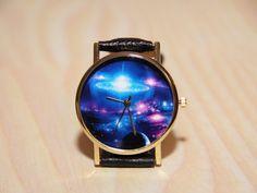Wristwatches space women's watches men's watches by RedMadagaskar