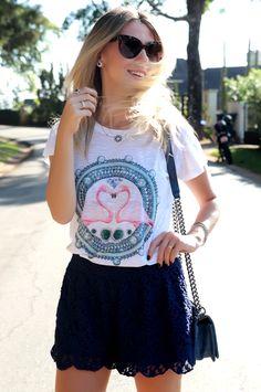glam4you nativozza vozza blog moda fashion look do dia outfit LA CHICA DE ORO JOIAS 8 Meu Look: Flamingo Meu Look melon melon Chanel
