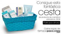 ¡Consigue una cesta de productos de cosmética valorada en 200€! Facial Tissue, Personal Care, Hampers, Products, Self Care, Personal Hygiene