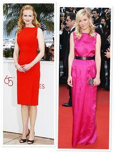 #NicoleKidman and #KirstenDunst in bold colors at #Cannes. http://news.instyle.com/2012/05/24/cannes-2012-celebrity-photos-diane-kruger-kirsten-dunst-more/