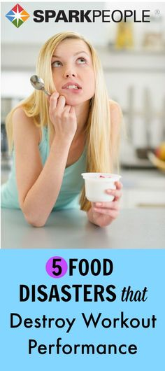 5 Diet Mistakes That Derail Your Workouts | via @SparkPeople #healthyliving #fitness #nutrition #eatbetter