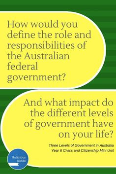 Take an in-depth look at the three levels of government in Australia with this Year 6 government mini unit