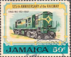 Jamaica 1970 Jamaican Railways SG 326 Fine Used Scott 327 Other jamaican Stamps HERE