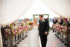 Downtown Waterfront Pier Wedding