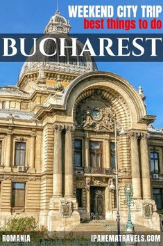 A weekend in Bucharest – why Romania's capital should be on your radar, TRAVEL, Bucharest is the perfect destination for a weekend city trip in Europe. Read further to find out which highlights you shall not miss on your long week. Europe Travel Guide, Travel Guides, Travel Destinations, European Destination, European Travel, Visit Romania, Romania Travel, Europe Bucket List, Asia