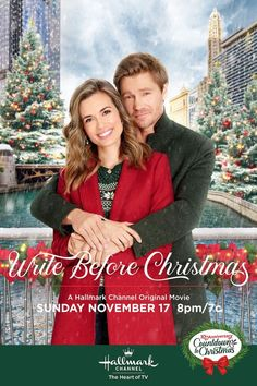 Write Before Christmas - a Hallmark Channel Countdown to Christmas Movie starring Torrey DeVitto, Chad Michael Murray, Lolita Davidovich, Grant Show, Geoff Gustafson and Drew Seeley! Write Before Christmas - a Hallmark Channel Hallmark Channel, Películas Hallmark, Films Hallmark, Disney Channel, Chad Michael Murray, Best Hallmark Christmas Movies, Family Christmas Movies, Romantic Christmas Movies, Family Movies