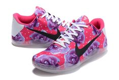 competitive price fd22a 3a1b5 2018 Original Kobe 11 Nike Elite Flyknit Aunt Pearl Think Pink Purple Rose  Kd Shoes,