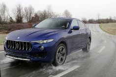A gallery with photos of the new 2017 Maserati Levante out and about. Head inside to see this new SUV from Maserati!