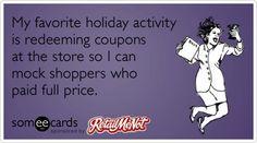 Do you reedeem coupons?
