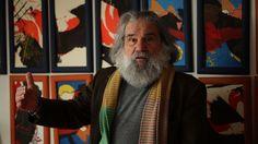 Vittorio Amadio, artista d'arte contemporanea, le cui opere sono esposte presso il Centro 'Arte On' a Castel di Lama.