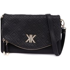 Kardashian Kollection 3515 Black Clutch (68 CAD) ❤ liked on Polyvore featuring bags, handbags, clutches, black purse, black quilted purse, black handbags, quilted crossbody and black quilted crossbody