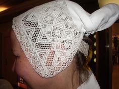 Bobbin lace hat for a folk dress. European Costumes, Folk Clothing, Folk Costume, Bobbin Lace, Headdress, Folklore, Finland, Culture, Touch