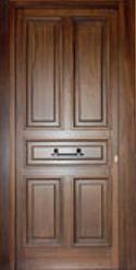 puerta 2 tableros madera de cedro puertas doors