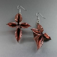 I Love Copper Jewelry offers you an exceptional variety of award winning one-of-a-kind and limited-edition top quality solid handmade copper jewelry by jewelry designer John S. All of our Copper Jewelry is handmade in the USA. Copper Earrings, Copper Jewelry, Beaded Jewelry, Dangle Earrings, Leaf Earrings, Flower Earrings, Statement Earrings, Copper Gifts, Handmade Copper