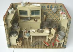 My Dream Dollhouse: Antique Dollhouse Kitchen