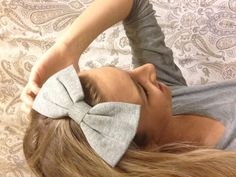 Cute hair bow :)