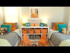 Room Tour: Ava and Dax || KIN PARENTS