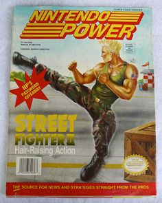 Nintendo Power - I HAD THIS ISSUE.  I don't know why I just got so excited.