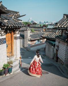 South Korea Seoul, South Korea Travel, Asia Travel, Japan Travel, Seoul Photography, South Korea Photography, Village Photography, Busan, South Corea