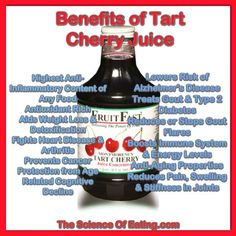 Everyone knows how delicious cherries are, but did you also know they are a wonderful way to help relieve pain, avoid premature aging, and add years to your life? FruitFast Tart Cherry Juice is America's selling brand of Tart Cherry Juice Concentrate, Tart Cherry Juice Benefits, Soy Milk Ice Cream, Tart Cherry Juice Concentrate, Face Wrinkles, Sports Drink, Cherry Tart, Vegetable Drinks, Cherries, Dairy Free