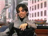 PRINCE EATING CRACKERS FROM HIS POCKET DURING...