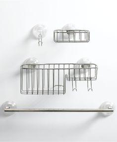 InterDesign Reo Powerlock Suction Tub Accessories Collection - Bathroom Accessories - Bed & Bath - Macy's 4-17$