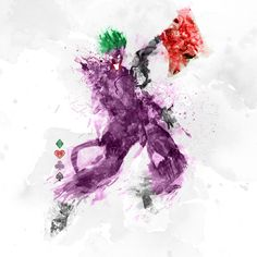 Paint Splatters - Joker